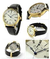 オリエントスターエレガントクラシック自動巻きメンズWZ0321ELOrientStar腕時計パワーリザーブウォームホワイト×ブラウン