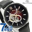 オリエントスター 腕時計 メンズ ORIENT STAR 日本製 自動巻き オープンハート コンテンポラリー 41mm RK-HJ0004R 革ベルト 時計【あす楽対応】