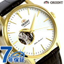 オリエント 腕時計 ORIENT スタンダード セミスケルトン 41mm 自動巻き RN-AG0012S 時計【あす楽対応】