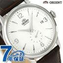 オリエント 腕時計 ORIENT クラシック スモールセコンド 40.5mm 自動巻き RN-AP0002S 革ベルト