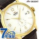 オリエント 腕時計 ORIENT クラシック スモールセコンド 40.5mm 自動巻き RN-AP0004S 革ベルト