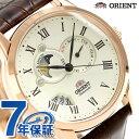 【1000円OFFクーポン付】オリエント ワールドステージコレクション サン&ムーン WV0371ET ORIENT 腕時計 オフホワイト