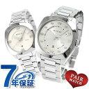 GUCCI - ペアウォッチ グッチ GG2570 コレクション シルバー 腕時計 GUCCI 時計