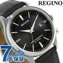 シチズン レグノ 電波ソーラー 革ベルト メンズ 腕時計 KL8-911-50 CITIZEN REGUNO 時計