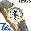 シチズン レグノ Disneyコレクション 「 ミッキーマウス 」 レディース 腕時計 KP7-126-10 CITIZEN ディズニー ホワイト×グレー【あす楽対応】