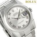 ロレックス デイトジャスト メンズ ROLEX 36 自動巻き 116200 グレーシルバー 時計