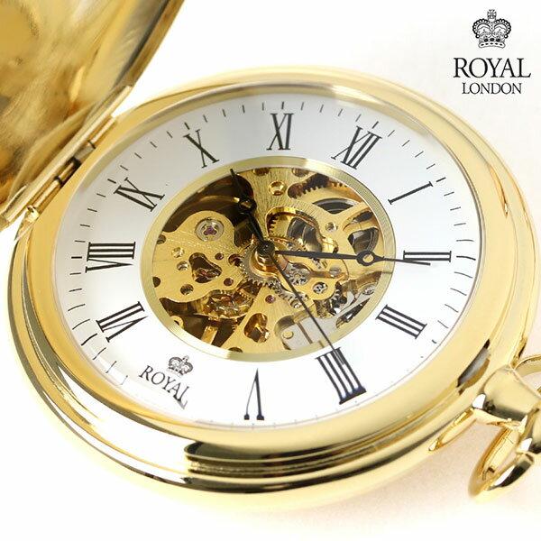 ロイヤルロンドン 懐中時計 手巻き 90005-...の商品画像