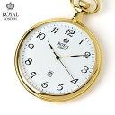 ロイヤルロンドン 懐中時計 クオーツ 90015-02 ROYAL LONDON ポケットウォッチ 時計