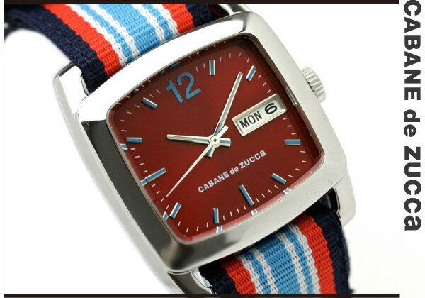 ズッカ CABANE de ZUCCa カバン ド ズッカ 腕時計 ブックバンド AWGT009 レッド