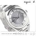 アニエスベー agnes b. メンズ 腕時計 グリッドデザインシリーズ ホワイト FBRT992