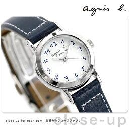 【ポーチ付き♪】<strong>アニエスベー</strong> 時計 レディース ソーラー FBSD981 agnes b. ネイビー 革ベルト 腕時計【あす楽対応】