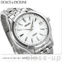 セイコー ドルチェ 電波ソーラー ペアウォッチ メンズ SADZ123 SEIKO DOLCE&EXCELINE 腕時計 シルバー