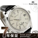 【5000円OFFクーポン付】SBGA093 グランド セイコー スプリングドライブ メンズ 腕時計 GRAND SEIKO シルバー×ブラックレザー
