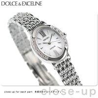 セイコーレディースソーラー腕時計エクセリーヌシルバーSEIKOEXCELINESWCQ047