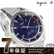 【1000円OFFクーポン付♪】アニエスベー 電波 ソーラー マルセイユ メンズ FBRY999 腕時計 agnes b. ブルー