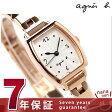 ショッピングアニエスベー アニエスベー クオーツ レディース 腕時計 FBSK954 agnes b. シルバー×ピンクゴールド