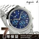 アニエスベー SAM リバイバル メンズ 腕時計 クロノグラフ FCRT987 agnes b. クオーツ ネイビー