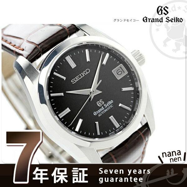 SBGR089 グランドセイコー 自動巻き メンズ 腕時計 GRAND SEIKO ダークブラウン レザーベルト