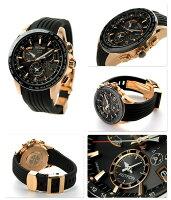 SBXB055【マイクロファイバークロスプレゼント♪】セイコーアストロンGPSソーラー8XシリーズデュアルタイムSEIKOASTRON腕時計ブラック×ピンクゴールド