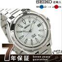 セイコー 逆輸入 海外モデル ソーラー 日本製 SNE077J1(SNE077J) SEIKO メンズ 腕時計 シルバー