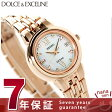 セイコー エクセリーヌ 電波ソーラー ダイヤモンド レディース SWCW060 SEIKO DOLCE&EXCELINE 腕時計 ホワイトシェル×ピンクゴールド