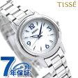 セイコー ティセ 電波ソーラー レディース 腕時計 SWFH015 SEIKO TISSE シルバー