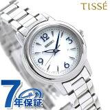 【ハンドクリーム付き?】セイコー ティセ 電波ソーラー レディース 腕時計 SWFH015 SEIKO TISSE シルバー