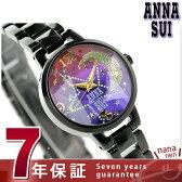 アナスイ スター ブレスレット クリスマス 限定モデル FCVK309 ANNA SUI 腕時計 パープルグラデーション×ブラック