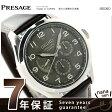 セイコー メカニカル プレザージュ 自動巻き メンズ 腕時計 SARW019 SEIKO メタリックグレー×ブラウン