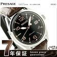 セイコー メカニカル プレザージュ 60周年 限定モデル SARX031 SEIKO 腕時計 ブラック×ブラウン【あす楽対応】
