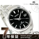 【10月末入荷予定 予約受付中♪】グランドセイコー 9Fクオーツ スタンダード 40mm メンズ SBGV023 GRAND SEIKO 腕時計 ブラック