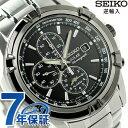 セイコー 逆輸入 海外モデル ソーラー クロノグラフ SSC147P1(SSC147PC) SEIKO 腕時計 ブラック
