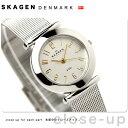 [新品][1年保証][送料無料]スカーゲン SKAGEN 腕時計 スチール レディース シルバー 107SGSC【あす楽対応】