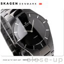 SKAGEN チタニウム ブラック 585XLTMXBスカーゲン SKAGEN 腕時計 ブラックレーベル チタン メンズ オールブラック 585XLTMXB【父の日】
