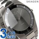 [新品][1年保証][送料無料]スカーゲン SKAGEN 腕時計 ブラックレーベル チタン メンズ グレー 585XLTMXM【あす楽対応】