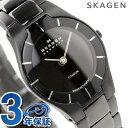 [新品][1年保証]スカーゲン SKAGEN 腕時計 ブラックレーベル チタン レディース オールブラック 585XSTMXB【あす楽対応】