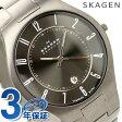 【ポイント10倍!25日20時〜4H限定】スカーゲン SKAGEN 腕時計 チタン メンズ グレー 801XLTXM