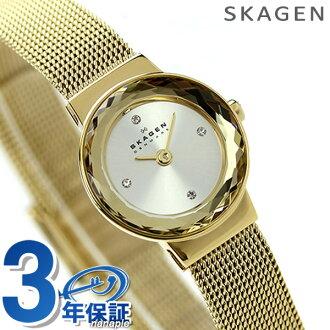Skagen women's watch quartz movement SKW2186 in SKAGEN Silver / Gold