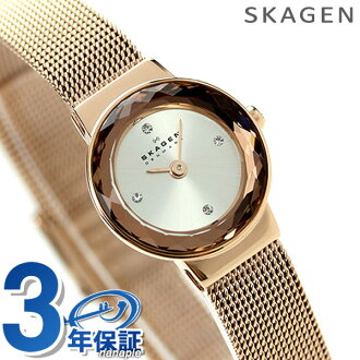 Skagen women's watch quartz movement SKW2187 in SKAGEN silver / rose gold