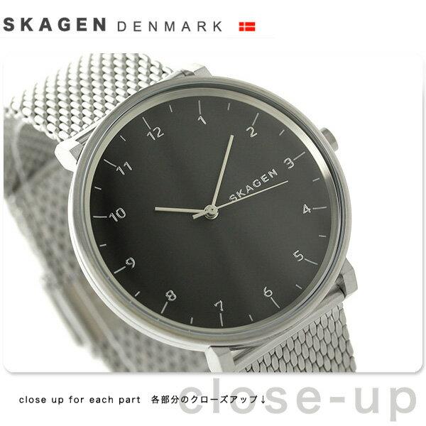 スカーゲン ハルド クオーツ メンズ 腕時計 SKW6175 SKAGEN グレー [新品][1年保証][送料無料]【かなりの】