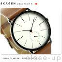 スカーゲン ハーゲン クオーツ メンズ 腕時計 SKW6216 SKAGEN シルバー×ブラウン【あす楽対応】