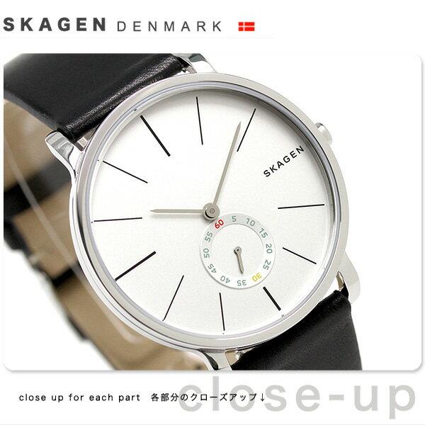 スカーゲン ハーゲン スモールセコンド メンズ 腕時計 SKW6274 SKAGEN シルバー [新品][1年保証][送料無料]