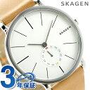 スカーゲン ハーゲン クオーツ メンズ 腕時計 SKW6215 SKAGEN シルバー×ライトブラウン
