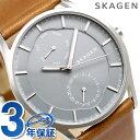 スカーゲン メンズ ホルスト クオーツ 腕時計 SKW6264 SKAGEN グレー×ブラウン 時計