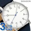 スカーゲン メンズ シグネチャー 40mm クオーツ 腕時計 SKW6356 SKAGEN 時計