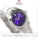スイスミリタリー SWISS MILITARY レディース 腕時計 ELEGANT VIVID パープル ML263