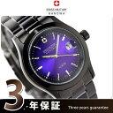 スイスミリタリー SWISS MILITARY メンズ 腕時計 ELEGANT VIVID BLACK MODEL パープル ML270