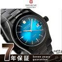 スイスミリタリー SWISS MILITARY メンズ 腕時計 ELEGANT VIVID BLACK MODEL ブルー ML272