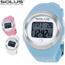 SOLUS ソーラス 腕時計 スポーツ 健康 ウォーキング 消費カロリー 心拍数測定 Leisure800 全8タイプ 01-800