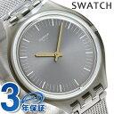 【5日は全品5倍にさらに+4倍でポイント最大33倍】 スウォッチ SWATCH 腕時計 スイス製 スキン レギュラー 36mm 薄型 SVOM100M 時計【あす楽対応】